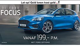 actie ford options Focus