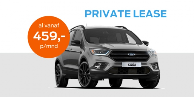 private lease actie ford kuga